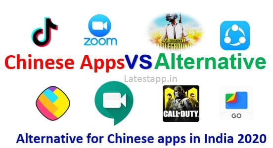 Alternatives  of Chinese Apps