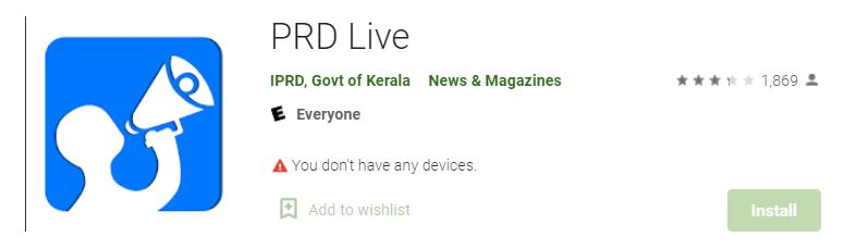 prd live app, prd live app download, prd live app election results