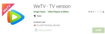 we tv app download andrid