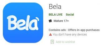 android app, bela app, bela app download, bela app review, bela live app, how to download, ios app, iphone, latest app, new apps download, PC App