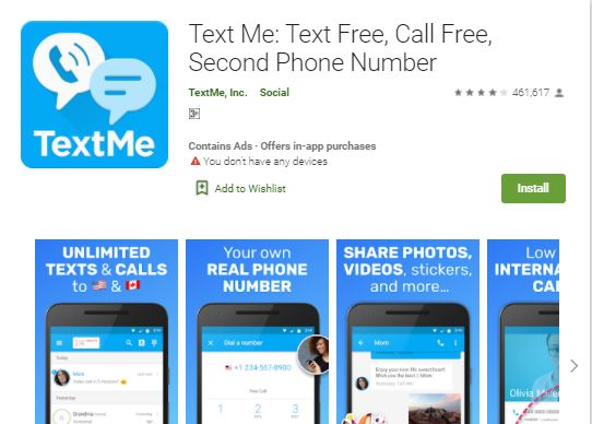 Call Free Second Phone Number App