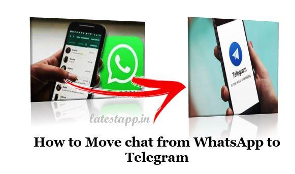 Move chat from WhatsApp to Telegram