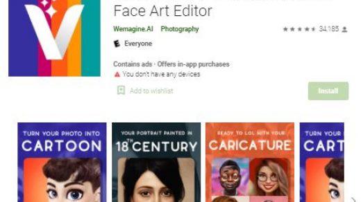 Voila ai artist app