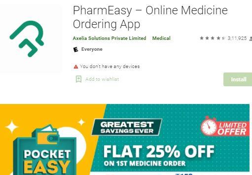 pharmeasy , pharmacy app, online medicine delivery app, medicine home delivery near me, medicine delivery at doorstep, pharmeasy contact number, pharmeasy app download, online medicine home delivery,