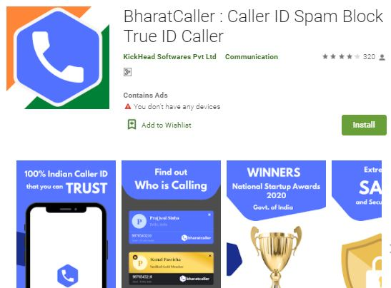 bharat caller app